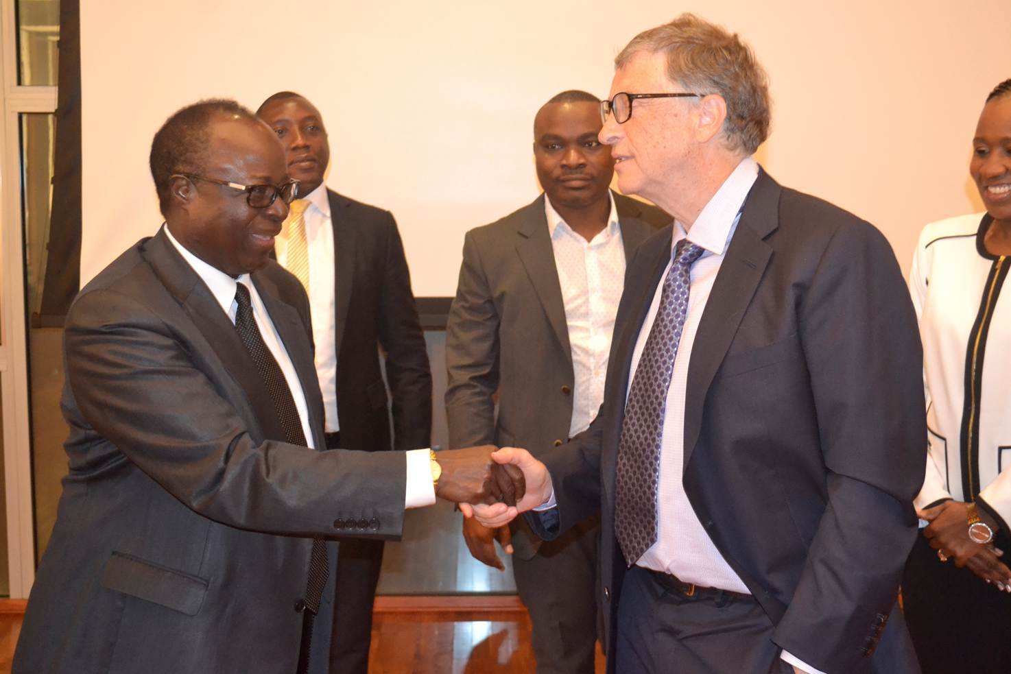 Bill Gates in Dar es Salaam this week to support financial inclusion